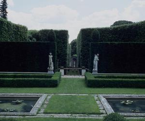 garden, aesthetic, and green image
