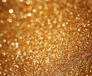 gold, wallpaper, and glitter image