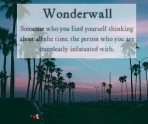 oasis, wonderwall, and 😍 image
