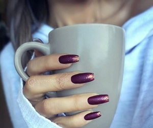nails and coffee image