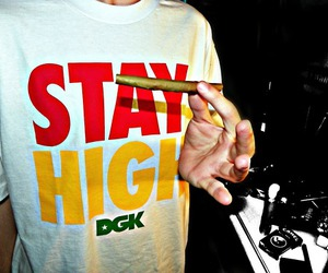 dope, blunt, and high image