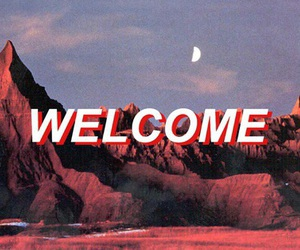 aesthetic, welcome, and red image