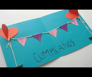 craft, diy, and happy birthday image
