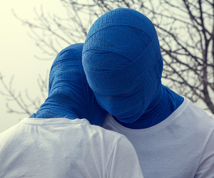 blue, photography, and love image