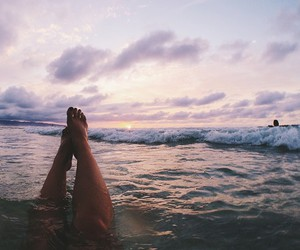 ocean and travel image