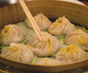 asian, dumplings, and food image