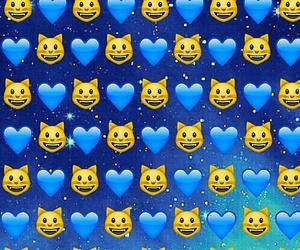 emoji, cat, and wallpaper image