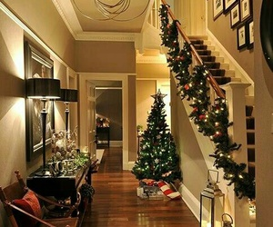 christmas, house, and home image