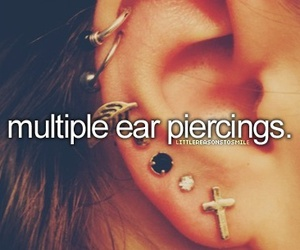 girl, piercing, and life image
