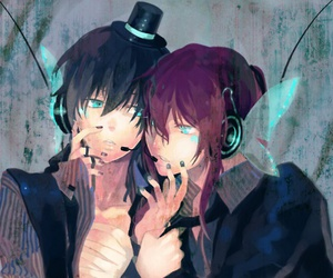 anime, butterfly, and vocaloid image