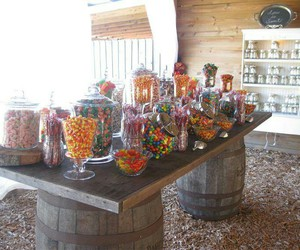 candy, decoration, and table image