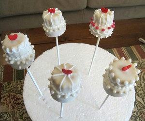 cake pops, decoration, and food image