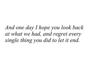 quotes, sad, and regret image