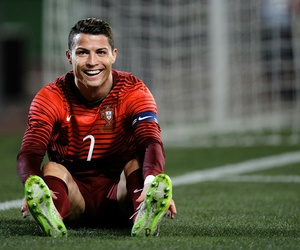 football, cr7, and portugal image