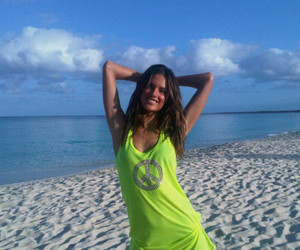 alessandra ambrosio, beach, and model image