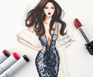 fashion, illustration, and art image