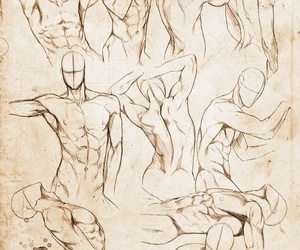 reference, body, and drawing image
