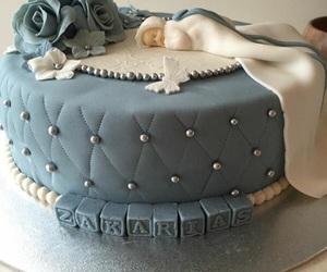 baking, Baptism, and cake image