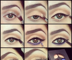 fashion, makeup, and eyemakeup image