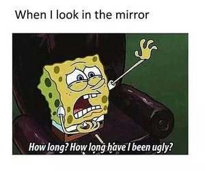 mirror, meme, and quotes image
