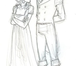 drawing and pride and prejudice image