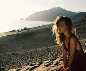 beach, red, and role model image