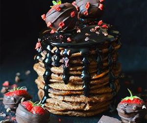 chocolate, sweet, and food image