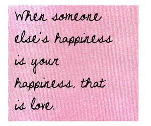 love, quote, and happiness image