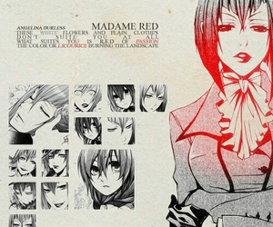 beautiful, black butler, and girl image