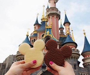 disney, disneyland, and food image