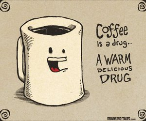 coffee, drugs, and delicious image