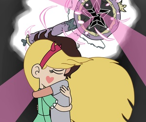 marco diaz, star butterfly, and star vs forces of evil image