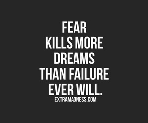 dreams, quotes, and failure image