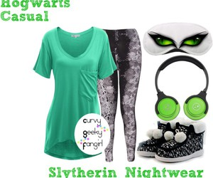 harry potter, slytherin, and plus size image