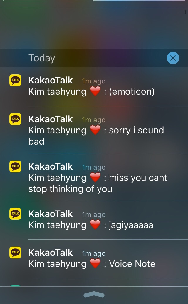 Want To Chat With V And Screenshot Them Just Add Id Name Kathrynkitty In Kakao Talk Have Fun X