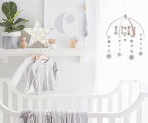 baby room, white, and baby stuff image