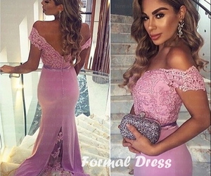 dresses, Prom, and fashion dress image