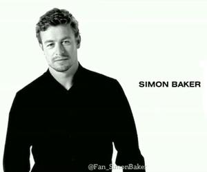 simon baker, the mentalist, and patrick jane image