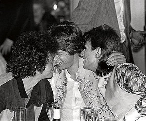 david bowie, lou reed, and mick jagger image