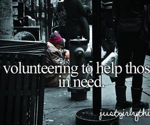 help, volunteer, and need image