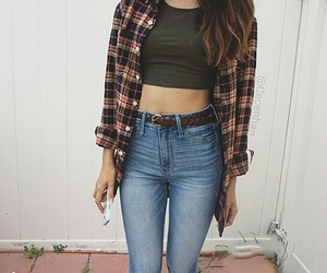 fall, hairstyle, and outfit image