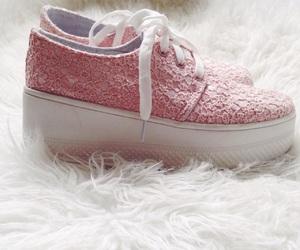 girly, pink, and platform image