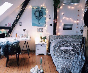 bedrooms, lights, and dream room image