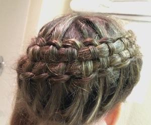 beautiful, braid, and makeup image
