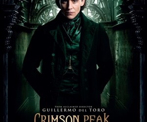 crimson peak, tom hiddleston, and movie image