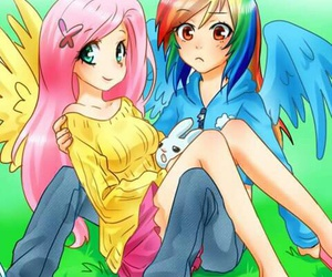 my little pony, fluttershy, and MLP image