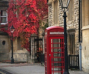 london, red, and england image