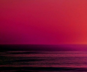 sea, red, and pink image
