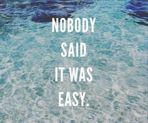 quote, Easy, and coldplay image