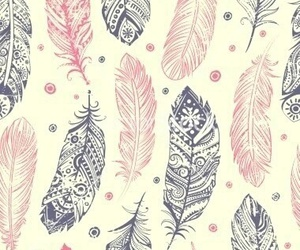 feather, wallpaper, and pink image